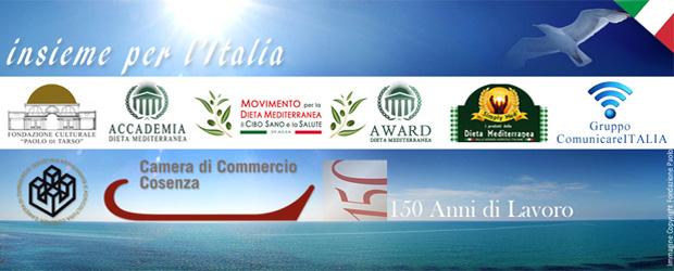 """Il progetto """"Dieta Mediterranea - Futuro Alimentare"""" si attua dalla sede di Cosenza"""