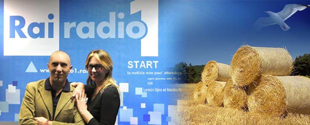 Da Sinistra: Lorenzo Opice e Annalisa Manduca del programma radiofonico STAR edita da RAI RADIO 1